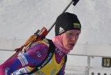 Lietuvos biatlono komanda olimpiniame festivalyje aplenkė dvi varžoves