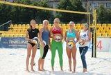 """""""Satellite"""" serijos paplūdimio tinklinio turnyre Vilniuje varžysis 17 šalių komandos"""