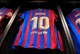 """Paaiškėjo, kam """"Barcelonos"""" komandoje buvo patikėtas L.Messi priklausęs 10-asis marškinėlių numeris"""