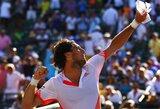 """J.Monaco netikėtai pateko į """"Sony Ericsson Open"""" turnyro pusfinalį"""
