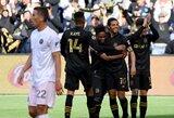"""Prisvilęs debiutas: D.Beckhamo valdomas """"Inter"""" MLS lygoje startavo pralaimėjimu prieš Los Andželo FC"""