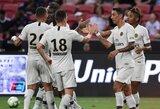 """Trečias kartas nemelavo: PSG įveikė """"Atletico"""" ir turnyre JAV iškovojo pirmąją pergalę"""