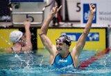 K.Hosszu pasaulio plaukimo taurės etapą Olandijoje pradėjo pagerintu planetos rekordu