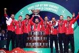 Stipriausios pasaulio vyrų teniso rinktinės suskirstytos į šešias grupes