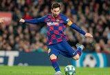 """""""Barcelona"""" traumų krizė: L.Messi rungtyniauja jausdamas skausmą"""