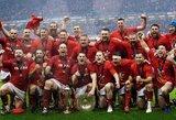 """Velso rinktinė ketvirtą kartą per 11 metų triumfavo """"Šešių nacijų"""" turnyre"""