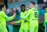 """Lietuvos futbolo A lyga: """"Riteriai"""" iškovojo pirmąją šio sezono pergalę"""