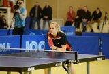 Lietuvos moterų stalo teniso rinktinė pralaimėjo turkėms, vyrai – čekams