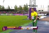 Švedijos lietus plovė lietuvių viltis – lengvaatlečiai liko be finalų