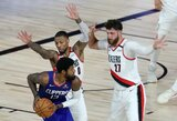 """""""Clippers"""" paskutinėmis sekundėmis palaužė pagrindinį Memfio ekipos konkurentą"""