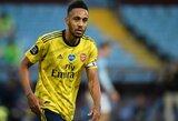 """""""Arsenal"""" pasiūlymas: aiškėja, kiek klube uždirbs P.E.Aubameyangas"""