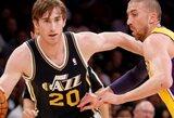 """""""Jazz"""" ketina viršyti """"Hornets"""" pasiūlymą dėl G.Haywardo"""