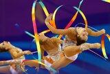 Europos žaidynes komentuos garsiausia visų laikų Lietuvos gimnastė D.Kutkaitė