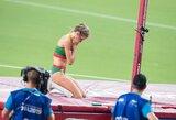 Po traumos grįžusiai A.Palšytei pasaulio čempionatas baigėsi kvalifikacijoje, J.Levčenkos rizika pasiteisino