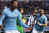 """Anglijos čempionate – šeštoji """"Man City"""" klubo pergalė iš eilės"""