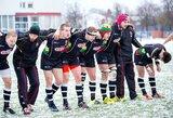 Lietuvos regbininkai rungtynių pabaigoje išplėšė pergalę prieš Latvijos rinktinę