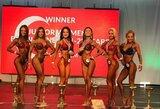 IFBB pasaulio jaunimo kultūrizmo ir fitneso čempionate lietuviai iškovojo 4 medalius