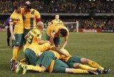 Australija ir Pietų Korėja priartėjo prie Pasaulio čempionato