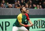 L.Grigelis ir D.Perezas Sanzas – teniso turnyro Egipte finale