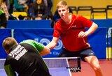 Europos stalo teniso atrankos turnyre moterys dar turi viltį, vyrai pasirodymą jau baigė