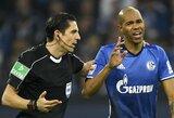 """""""Bayer"""" tik paskutinėmis minutėmis palaužė beveik visą mačą mažumoje žaidusią """"Schalke"""" ekipą"""