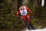 T.Kaukėnas sėkmingai pasirodė pasaulio biatlono taurės sprinte, dominavo broliai Boe