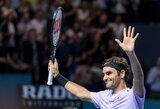 R.Federeris nepasigailėjo dešimtosios pasaulio raketės ir žengė į finalą
