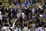 """Tai yra dominavimas: """"Warriors"""" tapo NBA čempione"""