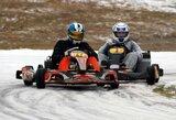 Smalininkuose – žiemiškos kartingo lenktynės