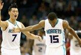 """Po nesustabdomu """"Hornets"""" garvežiu – ir """"Bulls"""" krepšininkai"""