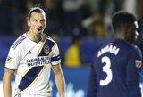 """Z.Ibrahimovičius nesikuklina: """"Laimėjau daugiau titulų nei visa MLS lyga"""""""