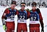 Jaunieji Lietuvos biatlonininkai buvo aplenkti ratu