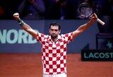 Kroatijos vyrų teniso rinktinė – arti Daviso taurės čempionų titulo