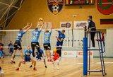 """Pirmąjį tašką Baltijos tinklinio lygoje """"Amber-Arlanga"""" iškovojo prieš čempionus"""