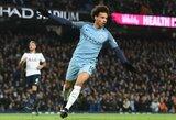 """L.Sane – greičiausias futbolininkas Anglijos """"Premier"""" lygos istorijoje"""