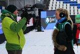 Lietuvos tinklininkės tęsia puikų pasirodymą Europos sniego tinklinio ture Maskvoje
