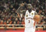 Su D.Motiejūnu Kinijoje žaidęs T.Lawsonas grįžta į NBA