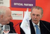 IOC prezidento J.Rogge'o mintys prieš Europos jaunių olimpinį festivalį