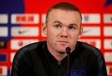 """Atsisveikinimo rungtynėms su Anglijos rinktine sugrįžęs W.Rooney: """"Atėjo laikas naujai kartai perimti šią atsakomybę"""""""
