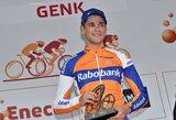 E.Juodvalkis ir G.Bagdonas startavo dviračių lenktynėse Belgijoje