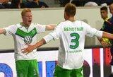 "N.Bendtneris išplėšė ""Wolfsburg"" klubui Vokietijos supertaurę"