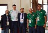 Baku dienoraštis: mero ir ambasadoriaus vizitas