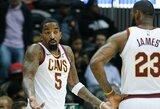 Apsikvailinęs J.R. Smithas tapo NBA žaidėjų pajuokos objektu