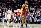 NBA reitingas: pasimetusi L.Jameso kariauna