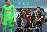 """""""RB Leipzig"""" nugalėjęs """"Bayern"""" sutvirtino """"Bundesliga"""" čempionato lyderio poziciją"""