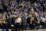 Fantastiškas S.Curry sugrįžimas: 38 taškai ir tritaškių rekordas