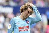 """""""Atletico"""" žada nubausti treniruotis atsisakiusį A.Griezmanną"""