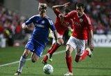 """UEFA Čempionų lygos apžvalga: """"Chelsea"""" – """"Benfica"""""""