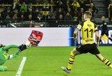 """""""Bundesliga"""" čempionate kova dėl titulo aršėja: Dortmundo """"Borussia"""" krito prieš """"Augsburg"""""""