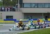 Lietuvis tęsia pasirodymą Europos kartingo čempionate